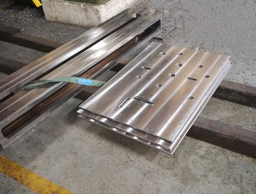 大型龙门cnc加工设备大铝板